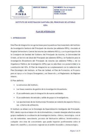 Plan de integración (pdf)