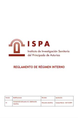 Reglamento de Régimen Interno (pdf)